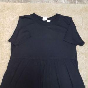 Newport News Black Tshirt dress